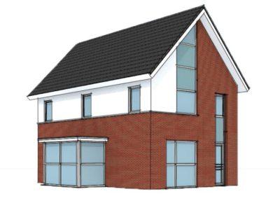 Schetsontwerpen van de varexhuis architect - Entree eigentijds huis ...