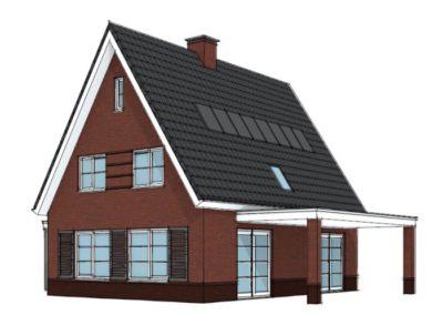 Karakteristieke levensloopbestendige woning