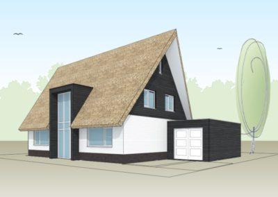 Modern landelijke villa in Gooise stijl