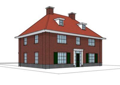 Klassieke royale notariswoning met serre