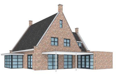 Schetsontwerpen van de varexhuis architect for Afbeelding van moderne huizen
