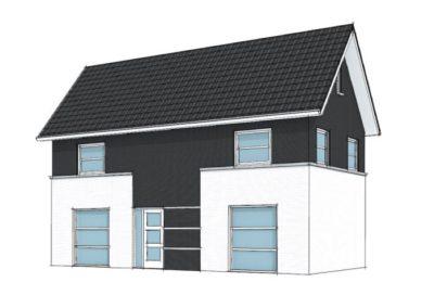 Modern symmetrische woning
