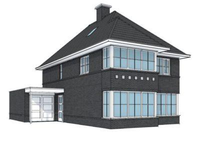 Stijlvolle klassieke woning met schildkap en erker