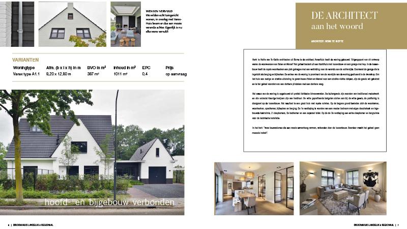 Jaarboek Droomhuis: 'Denken in de breedte'